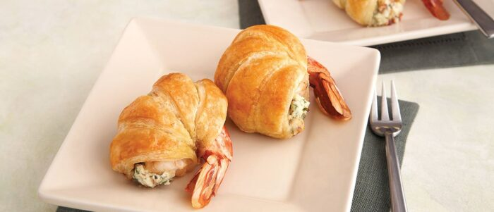 Jumbo Shrimp Wrapped in Puff Pastry